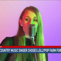Local country singer chooses Lollypop Farm for music video