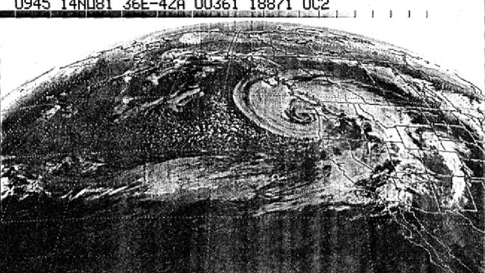 "Monday windstorm comes on 36th Anniversary of great ""Friday the 13th"" storm in 1981"