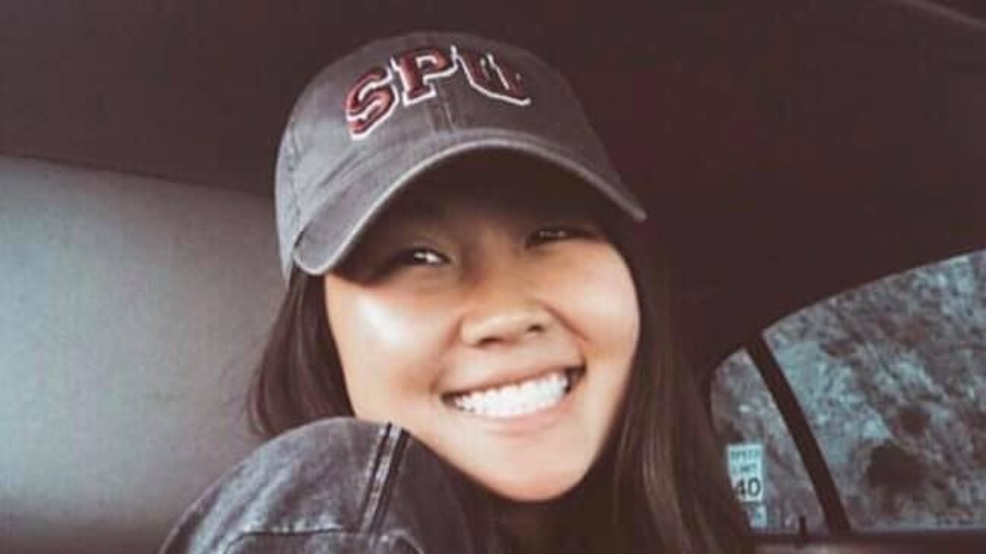 Two Seattle Pacific University students in car hit by crane; one died, one survived