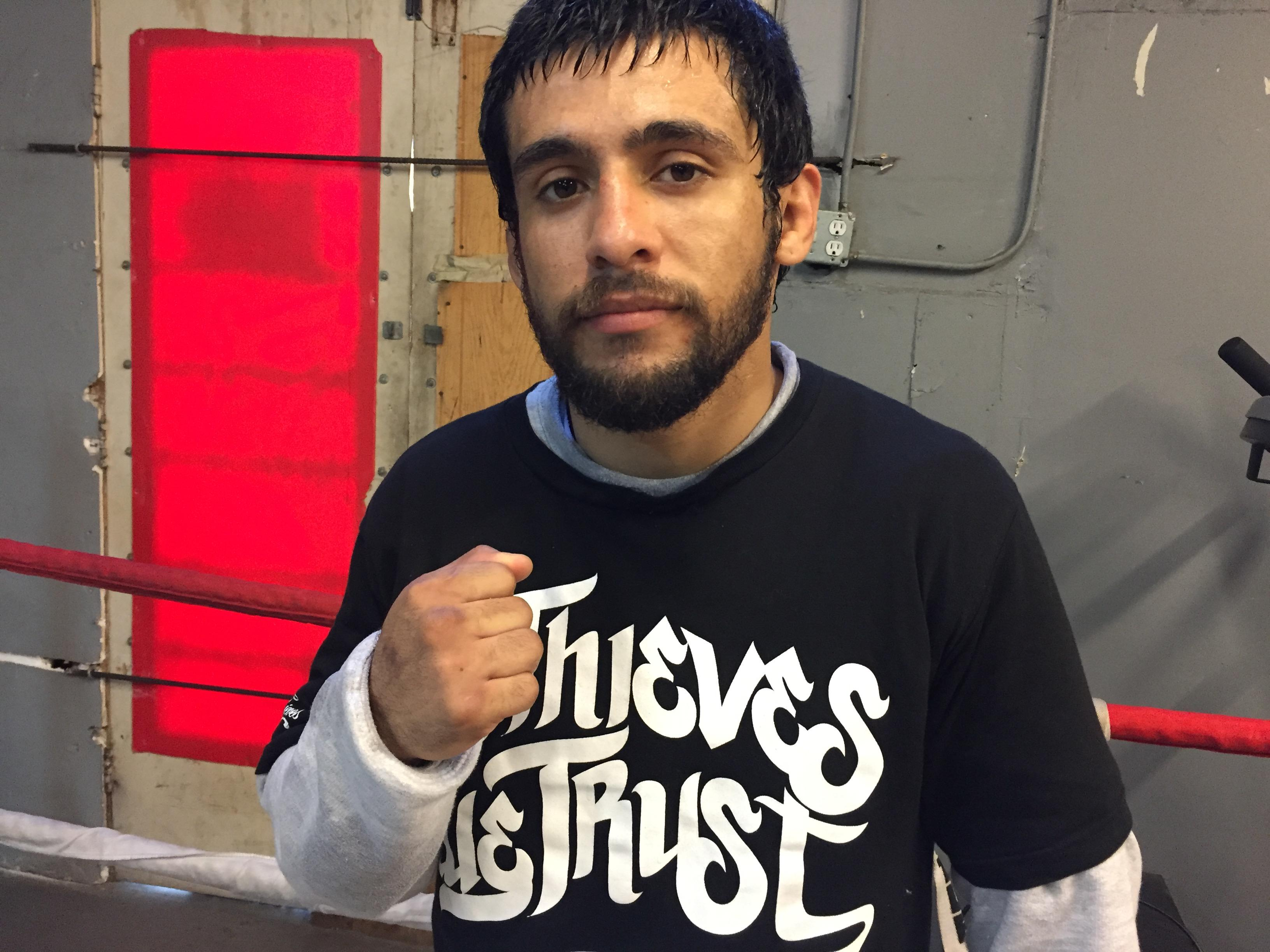 In addition to mixed martial arts, becoming a parent has helped Fierro turn his life around. He now has three small kids of his own, plus two stepchildren.