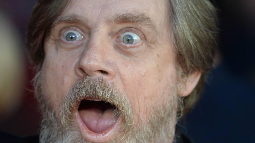 Mark Hamill was duped by 'Star Wars' training regime