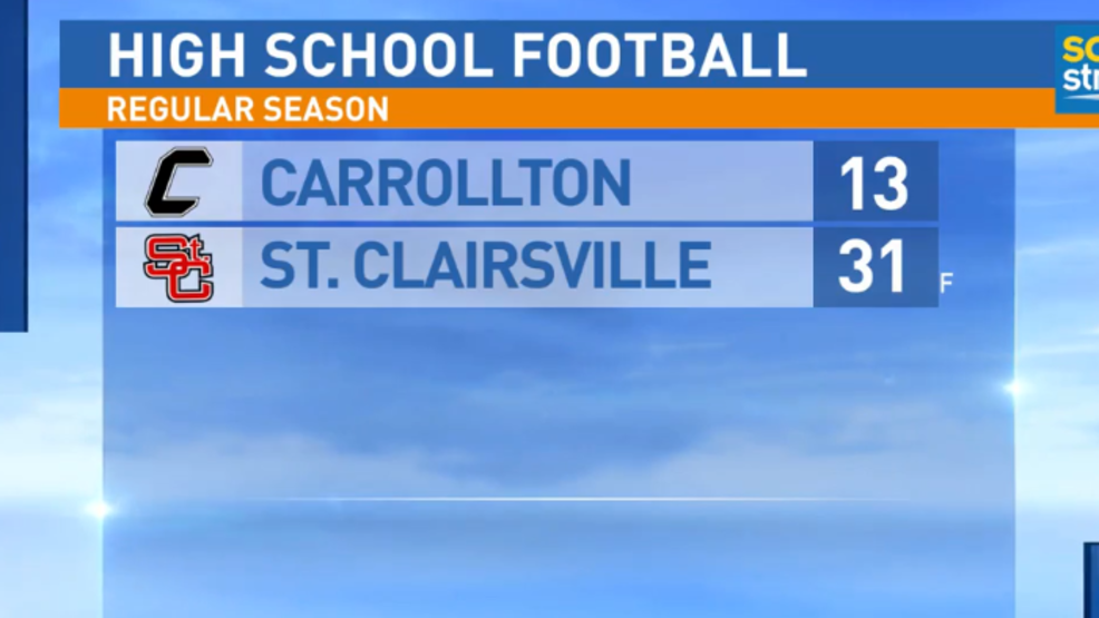 8.24.18 Highlights: Carrollton at St. Clairsville
