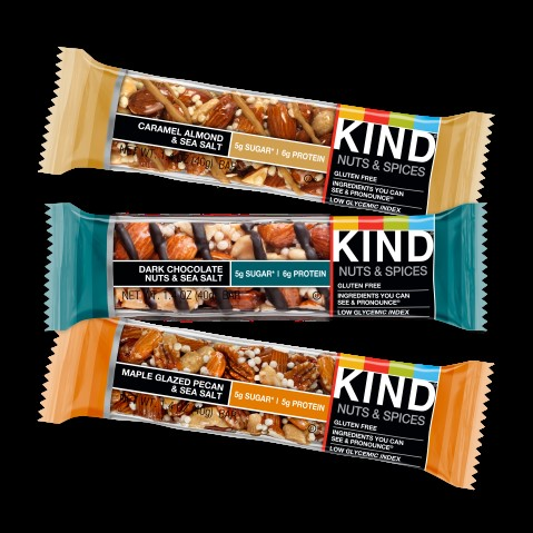 KIND Bars: They have more protein than sugar in most of their nut-based bars. Added bonus, they are crunchy and delicious// Sarah Waybright, MS, RD, Owner of WhyFoodWorks LLC// (KIND Bar)