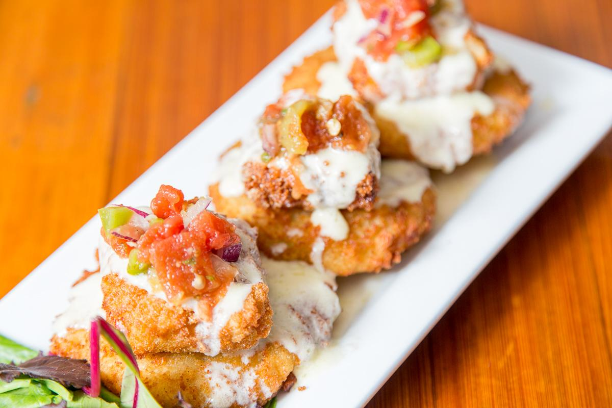 Fried Green Tomatoes  --  Image: Daniel Smyth Photography