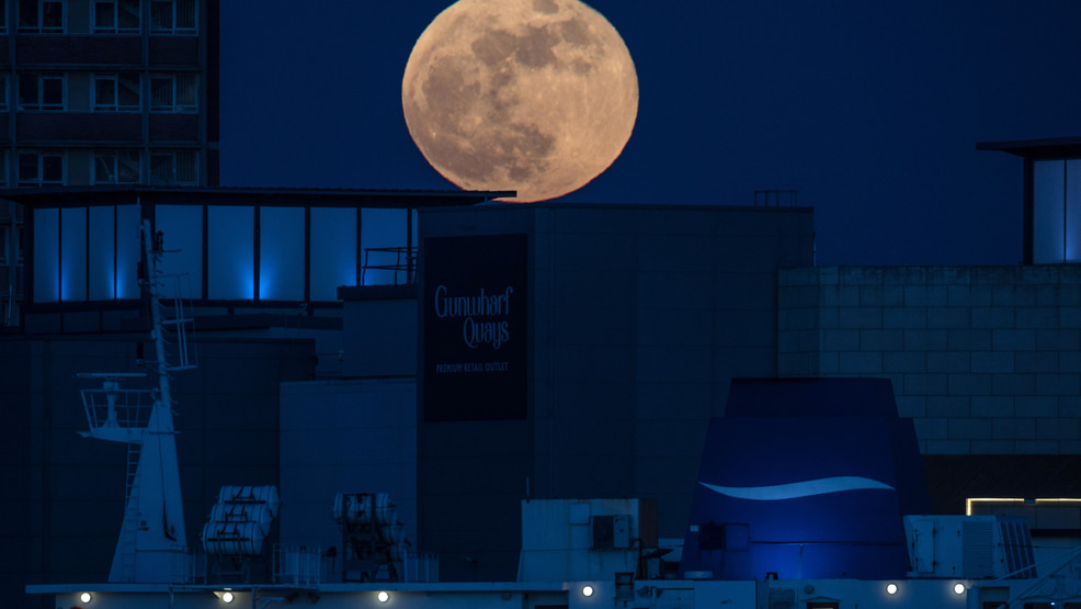Rare 'Blue Moon' to light up the sky Halloween night