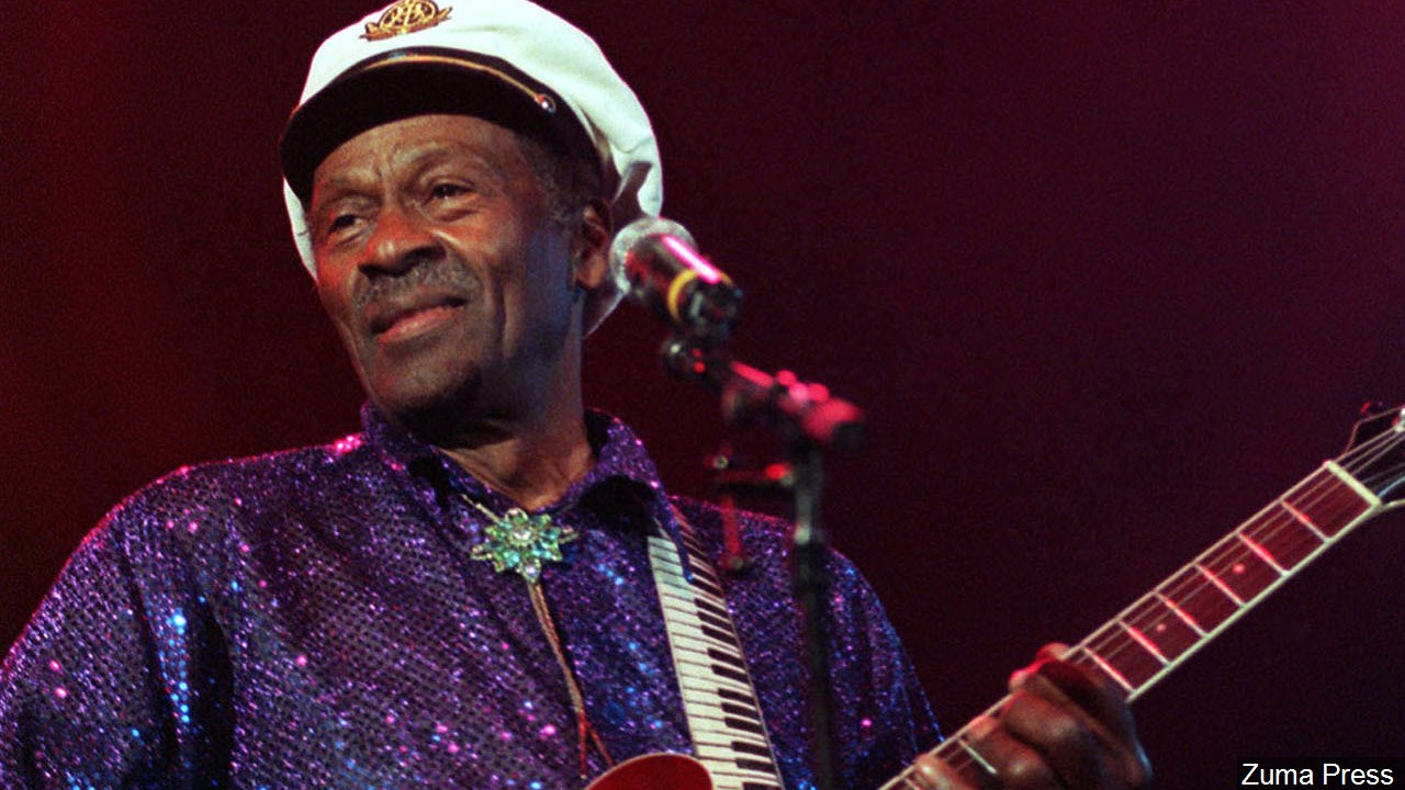 Musican Charles Edward Anderson &quot;Chuck&quot; Berry died March 18, 2017. He was 90. (Zuma Press/MGN Online)<p></p>