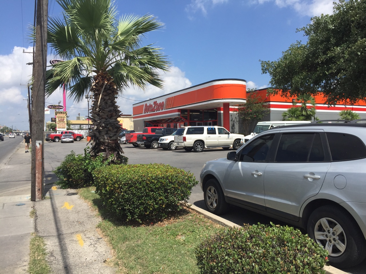 Autozone on Southwest Military Drive in San Antonio, Texas. (Photo: Sinclair Broadcast Group)