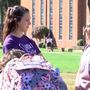 WLU students shining light on domestic violence