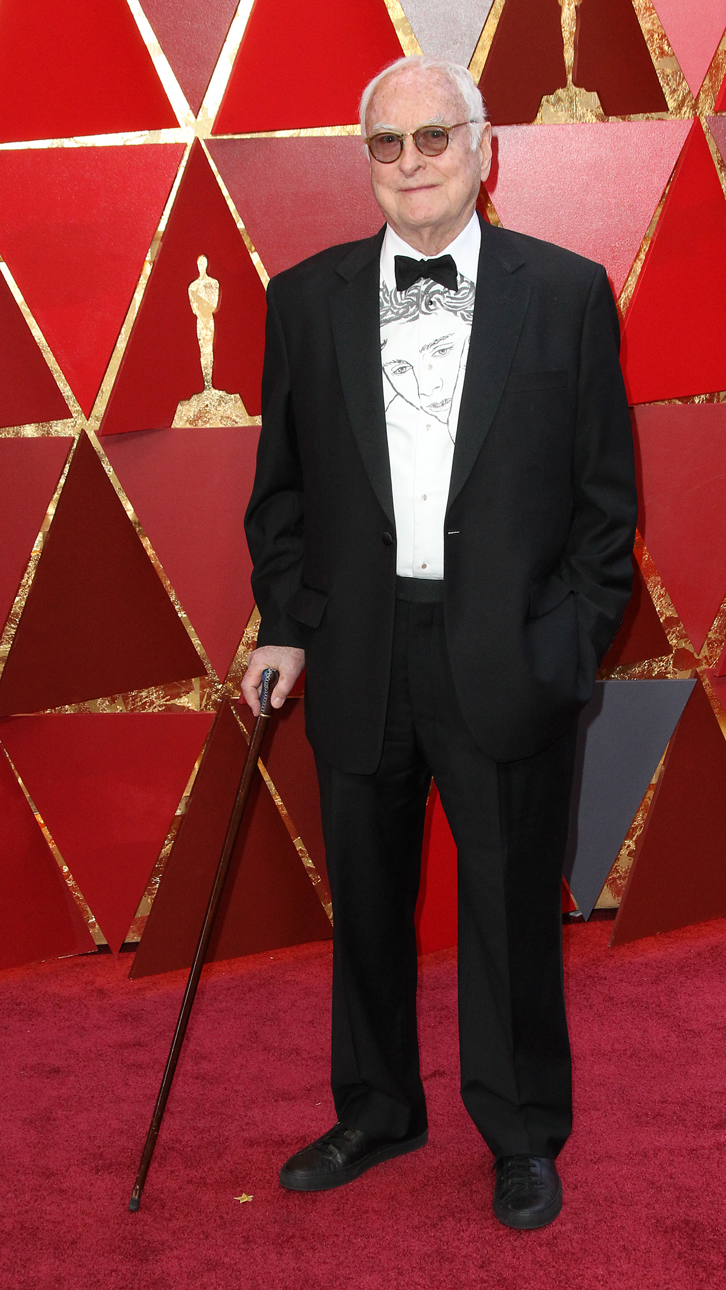 James IvoryWhere{&amp;nbsp;}arrives at the 90th Annual Academy Awards (Oscars) held at the Dolby Theater in Hollywood, California. (Image: Adriana M. Barraza/WENN.com) <p></p>