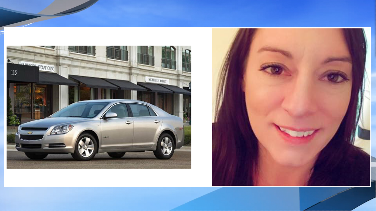 Grand Rapids Police are searching for 36-year-old Katie Mull, missing since Sunday, August 20. The vehicle pictured above is a stock photo of a vehicle similar to that which she is believed to be driving. (Photos: GRPD)