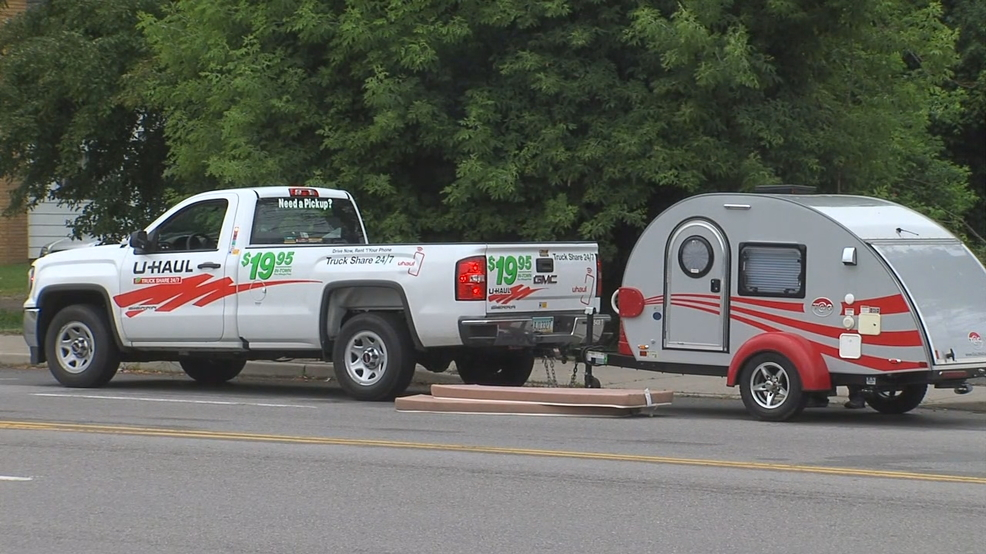 Camper found less than 48 hours after being stolen out of Hilton small