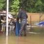 Some Kanawha County residents cleaning up after Friday's flooding