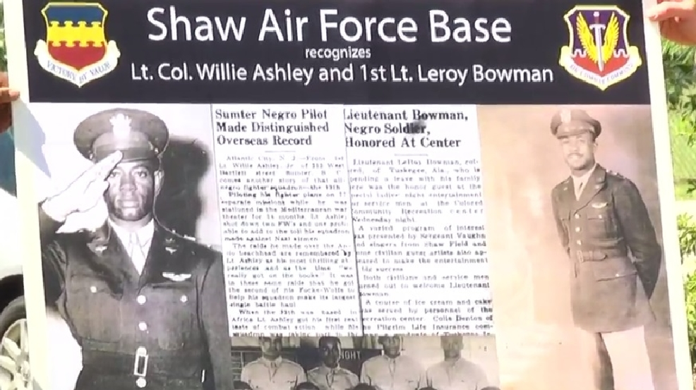 Local Tuskegee Airmen To Be Remembered Forever At Shaw Air Force Base Wach
