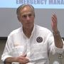 Gov. Abbott visits Beaumont and talks about rebuilding Texas