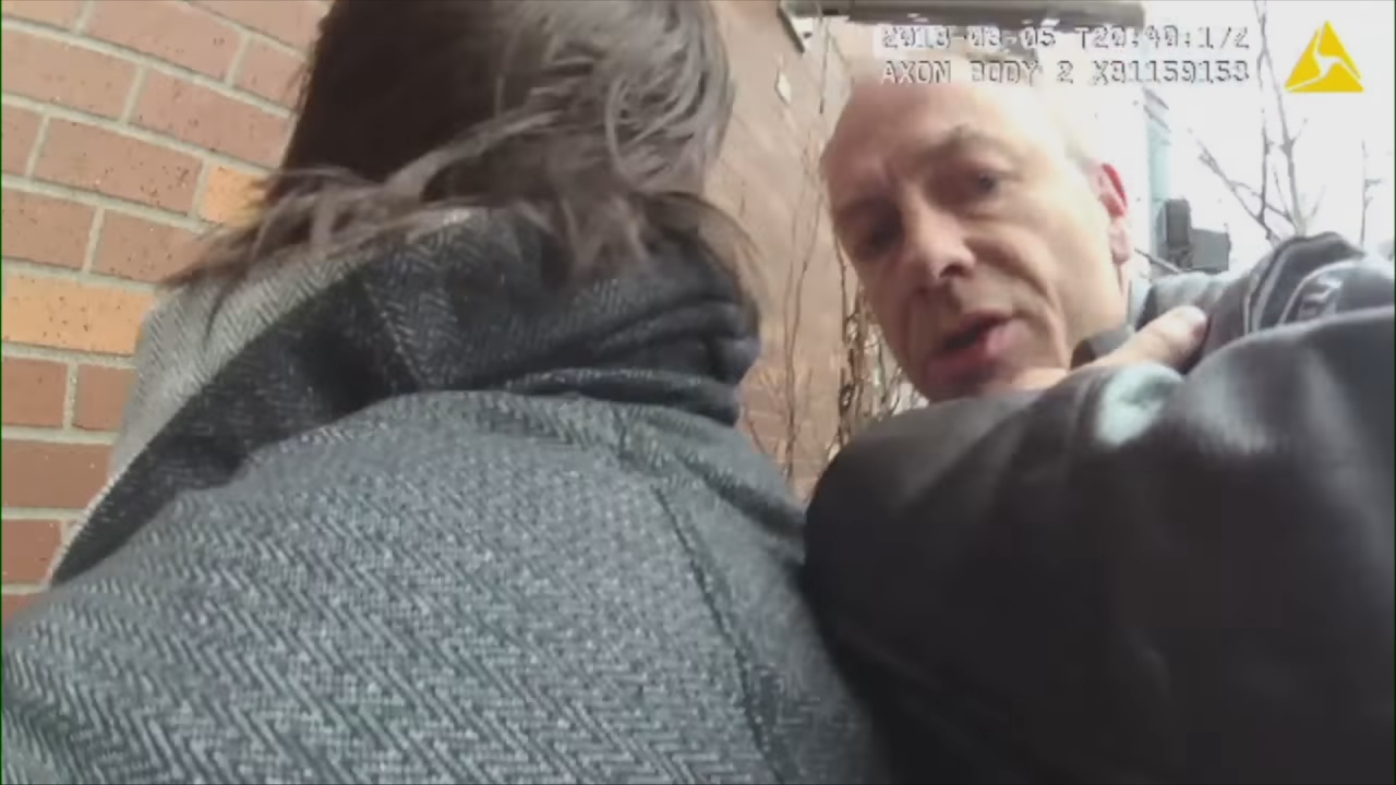 Seattle Police released new body cam video on Tuesday, showing the arrest that led to an officer being charged with misdemeanor assault. The officer, identified as Martin J. Harris, could face up to a year in jail or a $5,000 fine if convicted, said Seattle City Attorney Pete Holmes. (Photo: Still image from Seattle Police video)