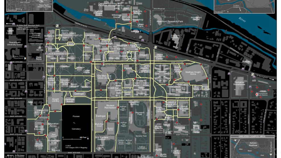 University of Oregon Police issue tips for student safety at night