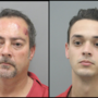 Father and son arrested in connection with two Henderson credit union robberies
