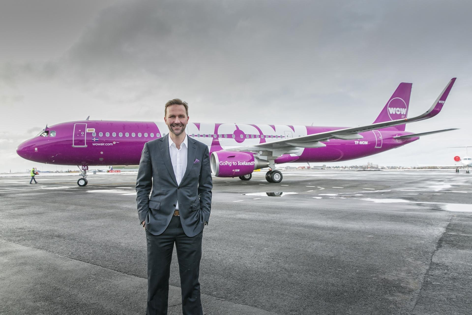 Skuli Mogensen, WOW airlines Founder and CEO / Image courtesy of WOW airlines // Published: 1.10.18