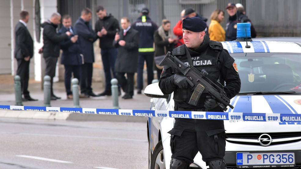 Montenegro police official: US Embassy attacker ex-soldier