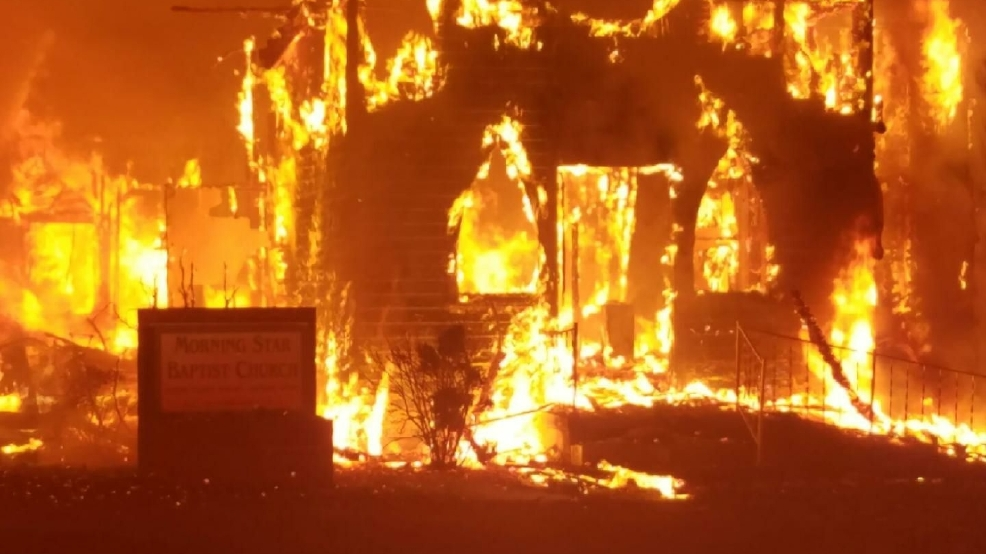 Appomattox fire destroys nearly 100 year old church wset for M and m motors appomattox