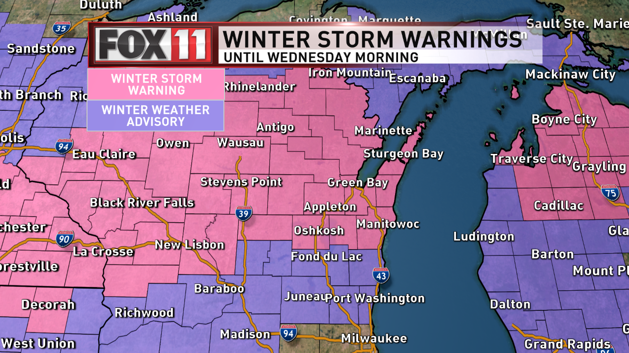 Winter Storm Dan (WLUK)