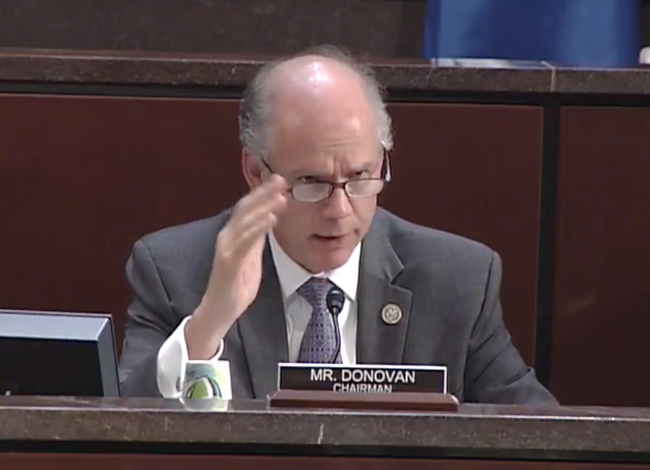 Subcommittee Chairman Dan Donovan, R- N.Y. /Photo: House Homeland Security Committee<p></p>