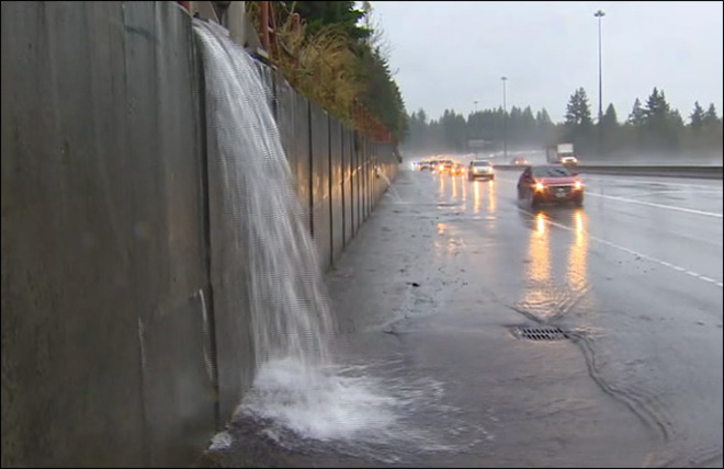 12 -- Number of consecutive hours it rained on Monday in Seattle. Overall, rain was reported in 15 of the day's 24 hours.