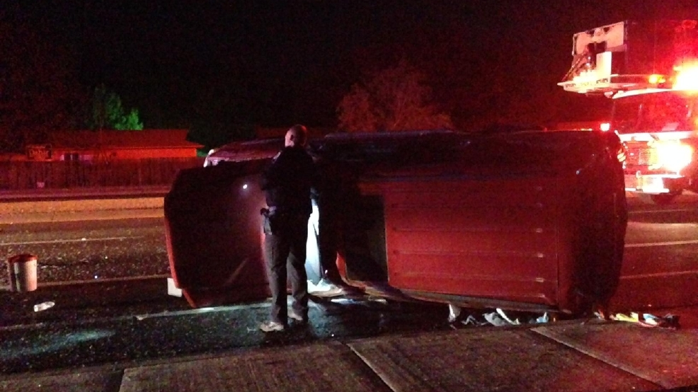 Sinclair Living Single : 2 people hospitalized after single-vehicle rollover in ...