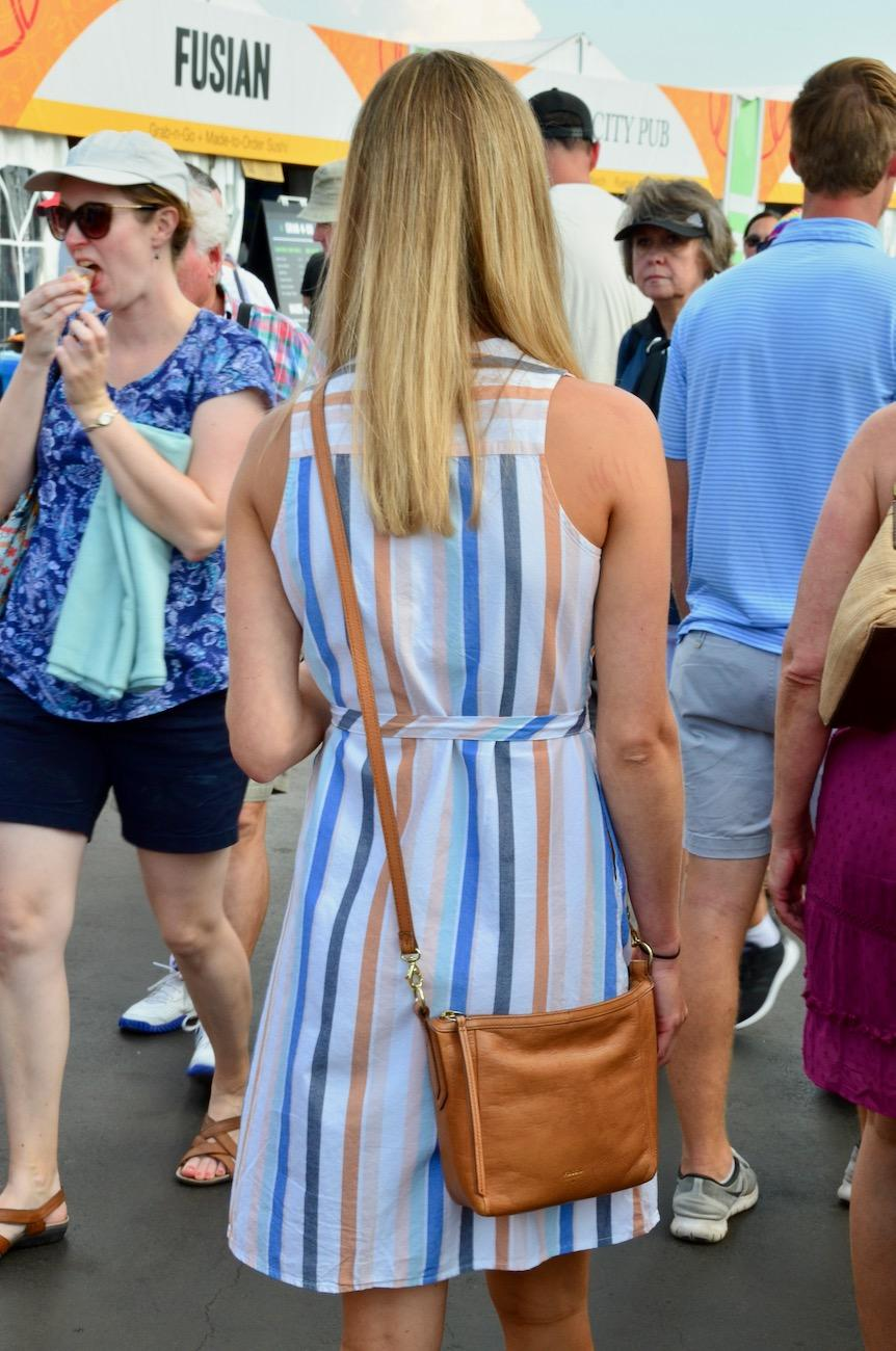 The Western & Southern Open (August 10-18) features the best tennis players in the world. But they're not the only people to watch. Keep your eyes peeled for all the fashionable fans, sporting everything from Lacoste to Lilly Pulitzer and plenty in between. / Image: Leah Zipperstein // Published: 8.15.19