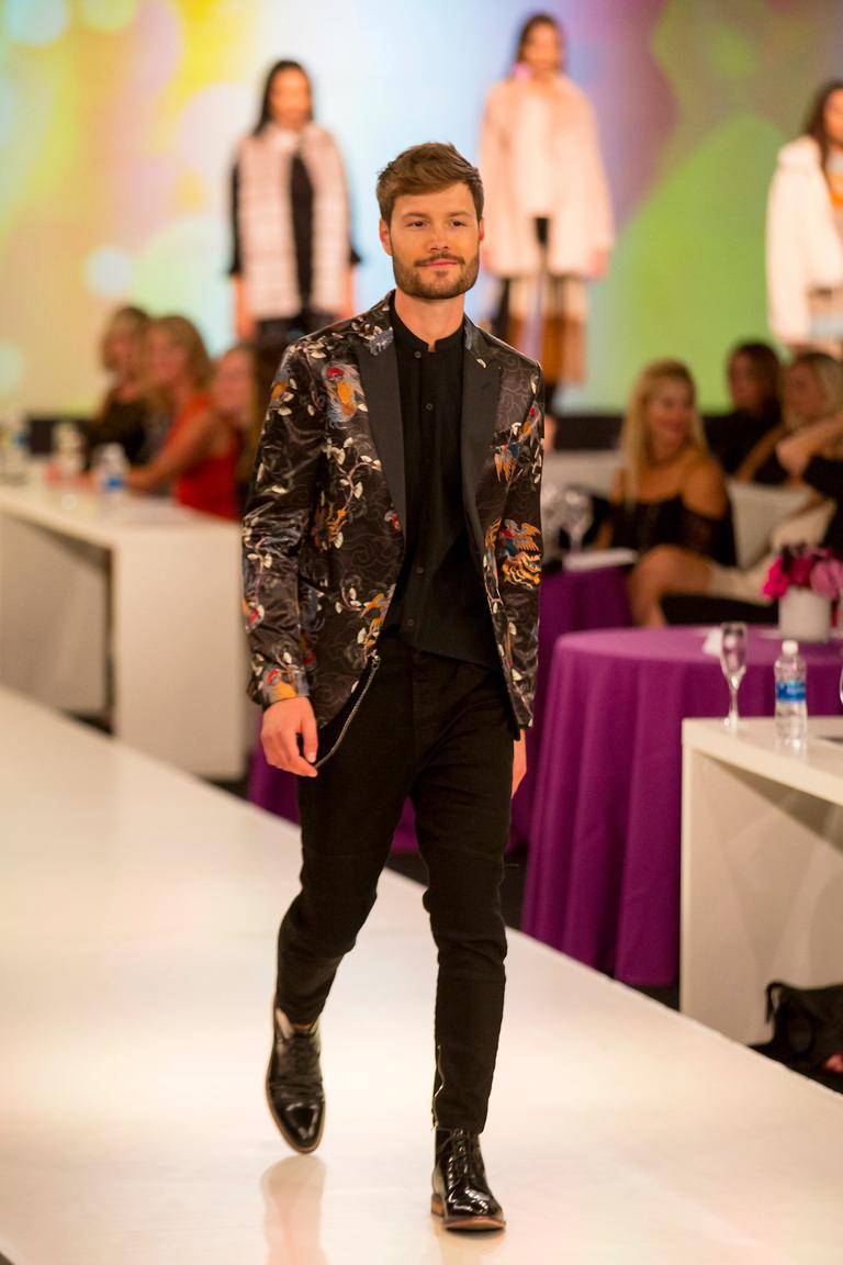 For the second night in a row, high fashion took the Bellevue Collection by storm with the Posh Party Trend Show, hosted by Monica Hart at the Hyatt Regency. (Sy Bean / Seattle Refined)