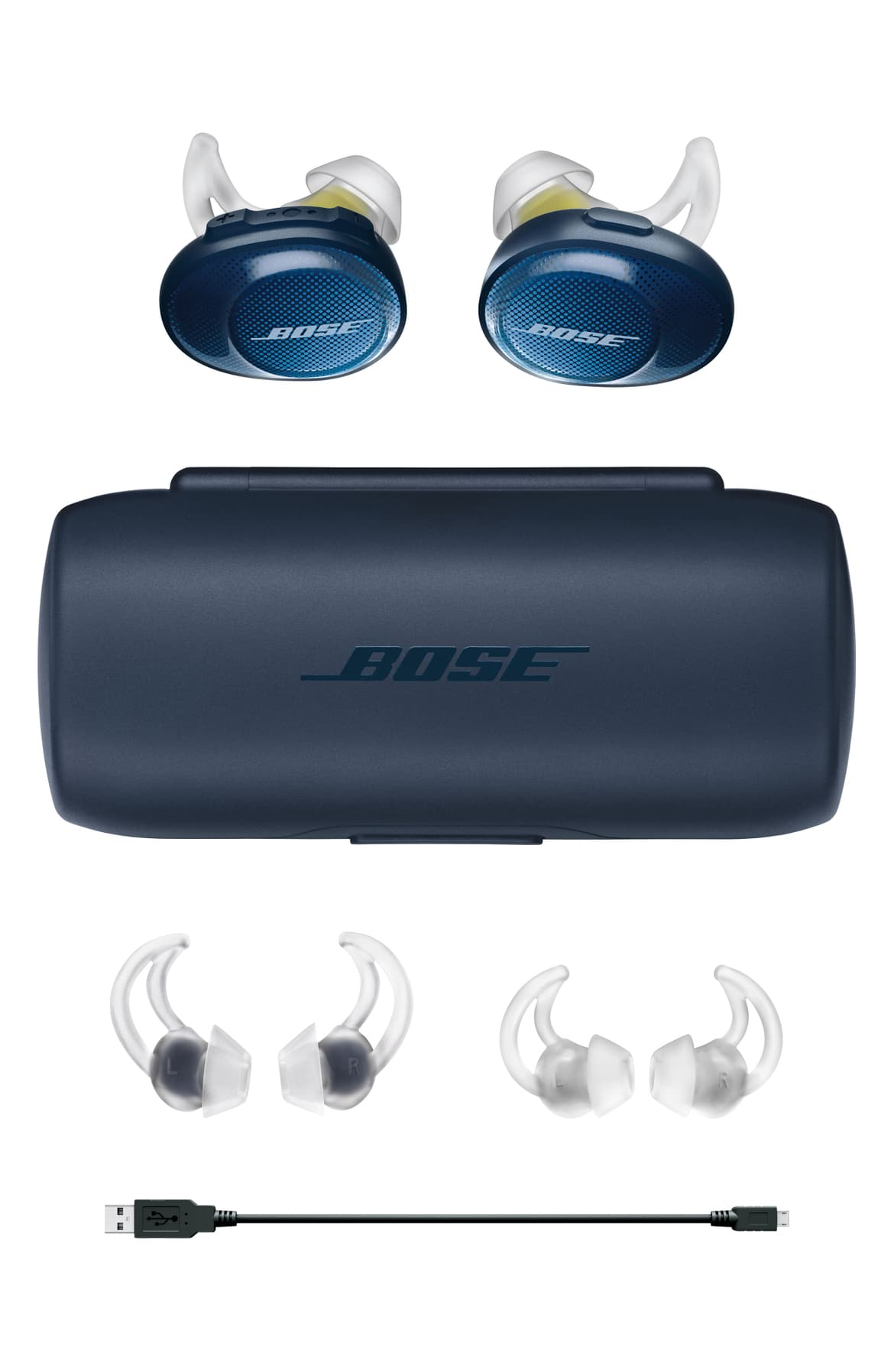 <p>Take his workout wireless with these high-performance ear buds that are optimized for active use - the added bonus is that they look really cool. $199.00 at Nordstom. (Image: Nordstrom){&nbsp;}</p><p></p>