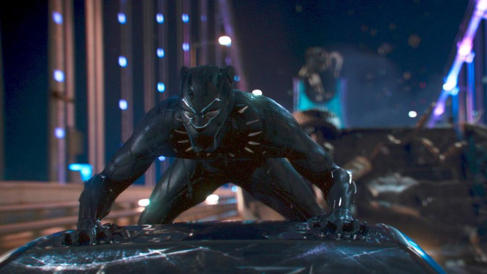 'Black Panther' sets new North American Monday box office record