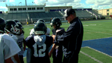 Junior high football team rallies around coach with cancer
