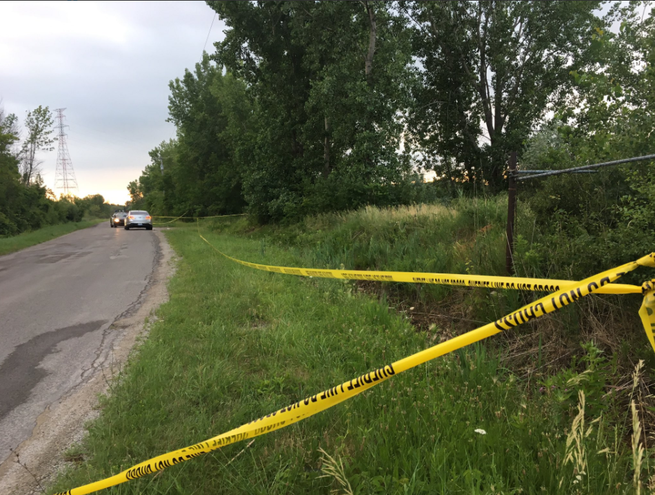 A body was found in the Saginaw River near Kochville Road.