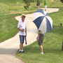 Spectators deal with extreme heat at Pinnacle Bank Golf Championship
