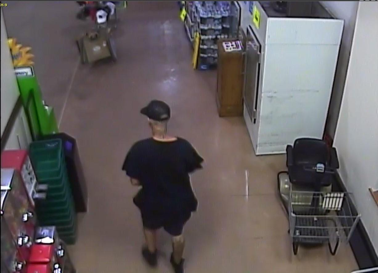 Suspect stole cigarettes from a Sumter Piggly Wiggly on October 13 (Source: SCSO)