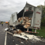Crash causes a mess on the Toll Road
