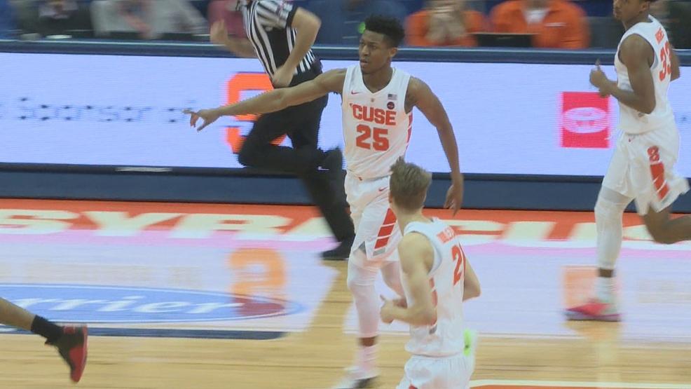 Statement Win Syracuse Drops 18 Louisville To Bolster Ncaa