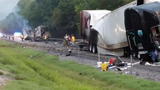 Deadly crash temporarily closes I-24 west in Marion County Friday morning